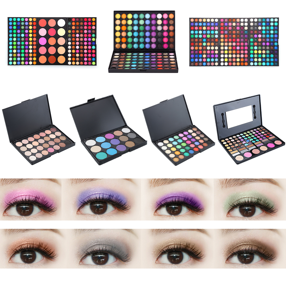Beauty & Health Lovely 2019 Hot Seal Eye Shadow Gradient Pearl Eye Shadow With Brush Lazy Eye Shadow Shimmer Lasting Natural Makeup Tslm1 Selected Material