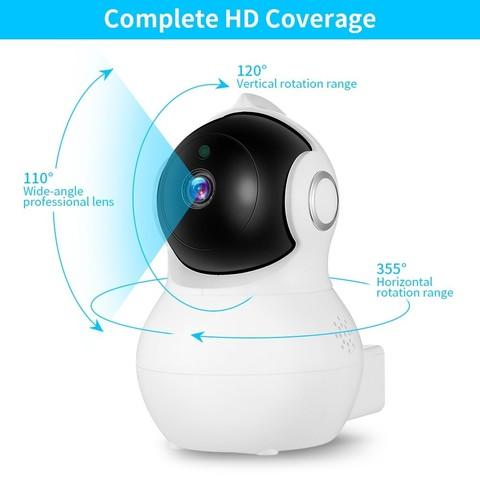 baby monitor de 1080 p hd camera