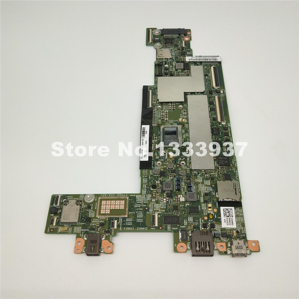 Placa-mãe do Portátil para 00ny789 Lenovo Thinkpad X1-tablet Teste Núcleo Mainboard M3-6y30 Sr2e 15218-2 Lgf-1 mb 448.04w08. 0021
