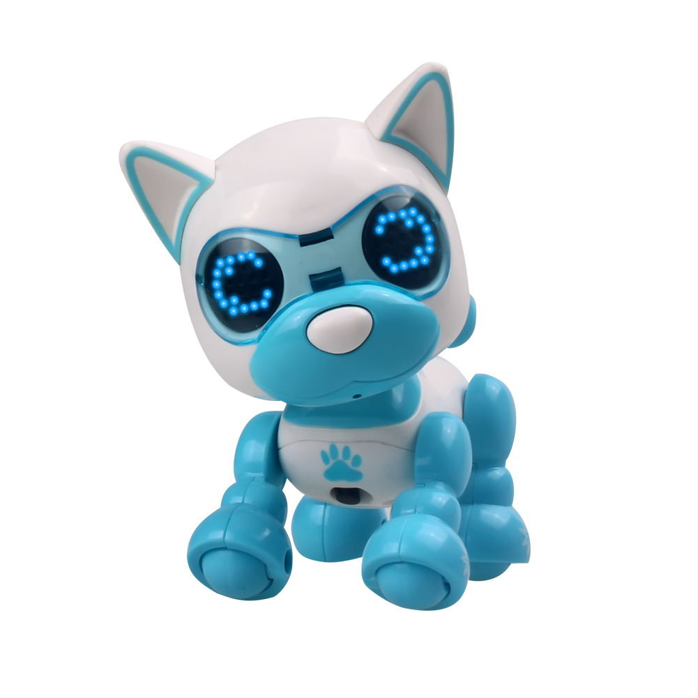 Toy Dog LED Eyes Children Sound Change Sleep Intelligent Interactive Robotic Puppy Cute Recording