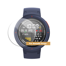 Bakeey خفف واقٍ زجاجي غطاء شاشة فيلم ل Amazfit Verge ساعة ذكية رقيقة فيلم HD المضادة للخدش Smartwatch اكسسوارات