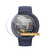 Bakeey szkło hartowane osłona ekranu Film dla Amazfit Verge inteligentny zegarek cienka folia HD Anti Scratch Smartwatch akcesoria