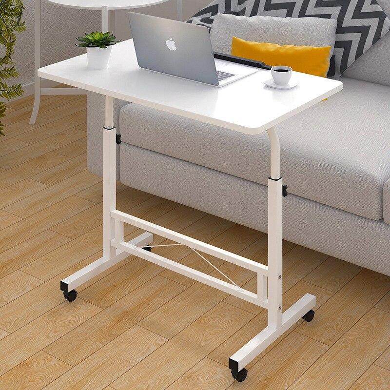 Table d'ordinateur pliable réglable ordinateur portable bureau rotation Table de lit d'ordinateur portable peut être soulevé bureau debout 80*40 CM