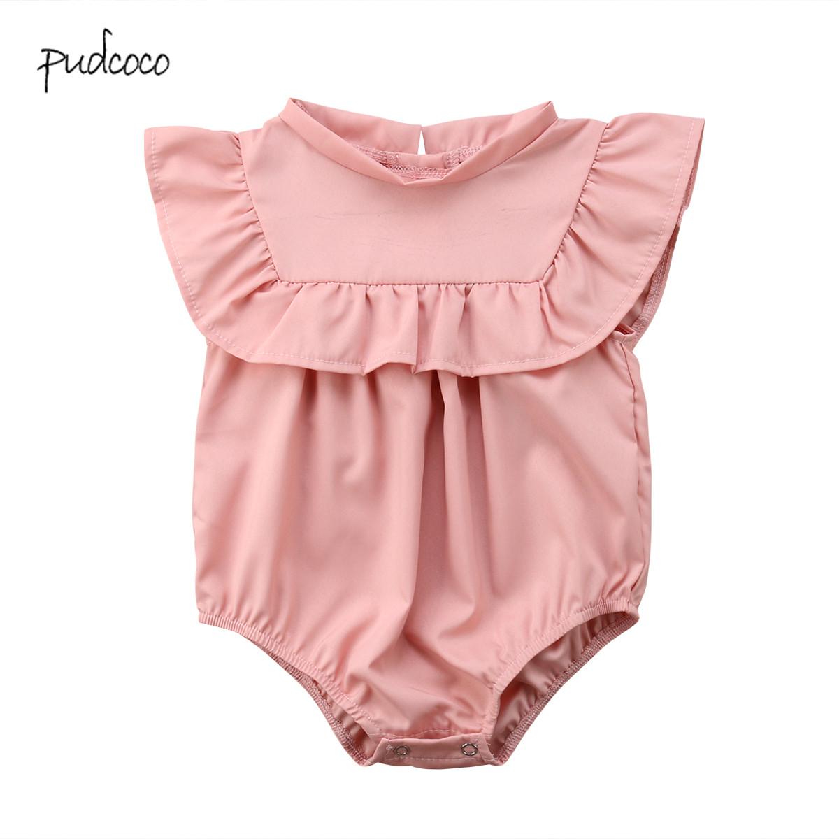 9f3c43313bd Detail Feedback Questions about Pudcoco New Brand Newborn Baby Boy Girls  Ruffle Bodysuit Jumpsuit Outfits Summer Clothes on Aliexpress.com