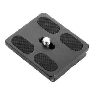 Image 4 - BGNing PU50 Quick Release Plate Tripod Ball Head Monopods with 1/4 inch Screw Universal for Benro Arca Swiss Tripod Ballhead
