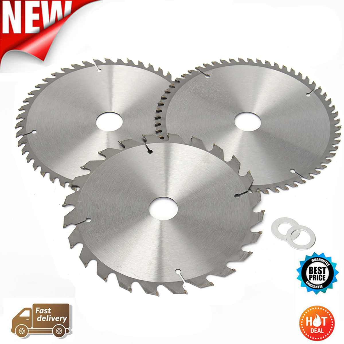 New Hot Sale 3 Pcs/set 210mm TCT 24/48/60T Circular Saw Blade For Home Decoration Purpose Wood/Thin Aluminum General CuttingNew Hot Sale 3 Pcs/set 210mm TCT 24/48/60T Circular Saw Blade For Home Decoration Purpose Wood/Thin Aluminum General Cutting