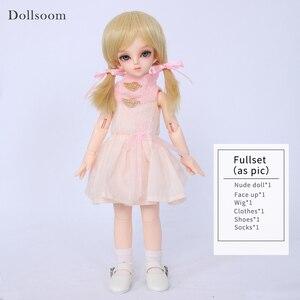 Image 4 - Rru & lililid modelo de cuerpo de muñeca BJD SD para bebés y niños, muñecos de resina, juguetes de alta calidad para cumpleaños y Navidad, 1/6