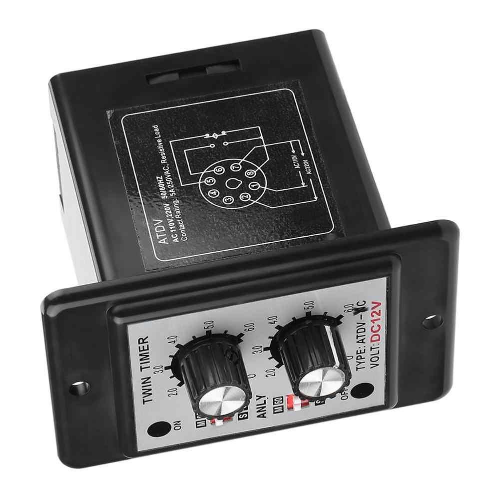 ВКЛ. Выкл. Двойная ручка реле таймера контроль времени переключатель ATDV-YC 6 S-60 M релейная плата