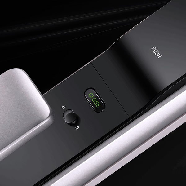 Xiaomi Youpin M2 Automatic Fingerprint Sliding Lock Smart Sliding Lock Automatic Push-pull Smart Remote Control For Mijia App #3 Furniture Accessories