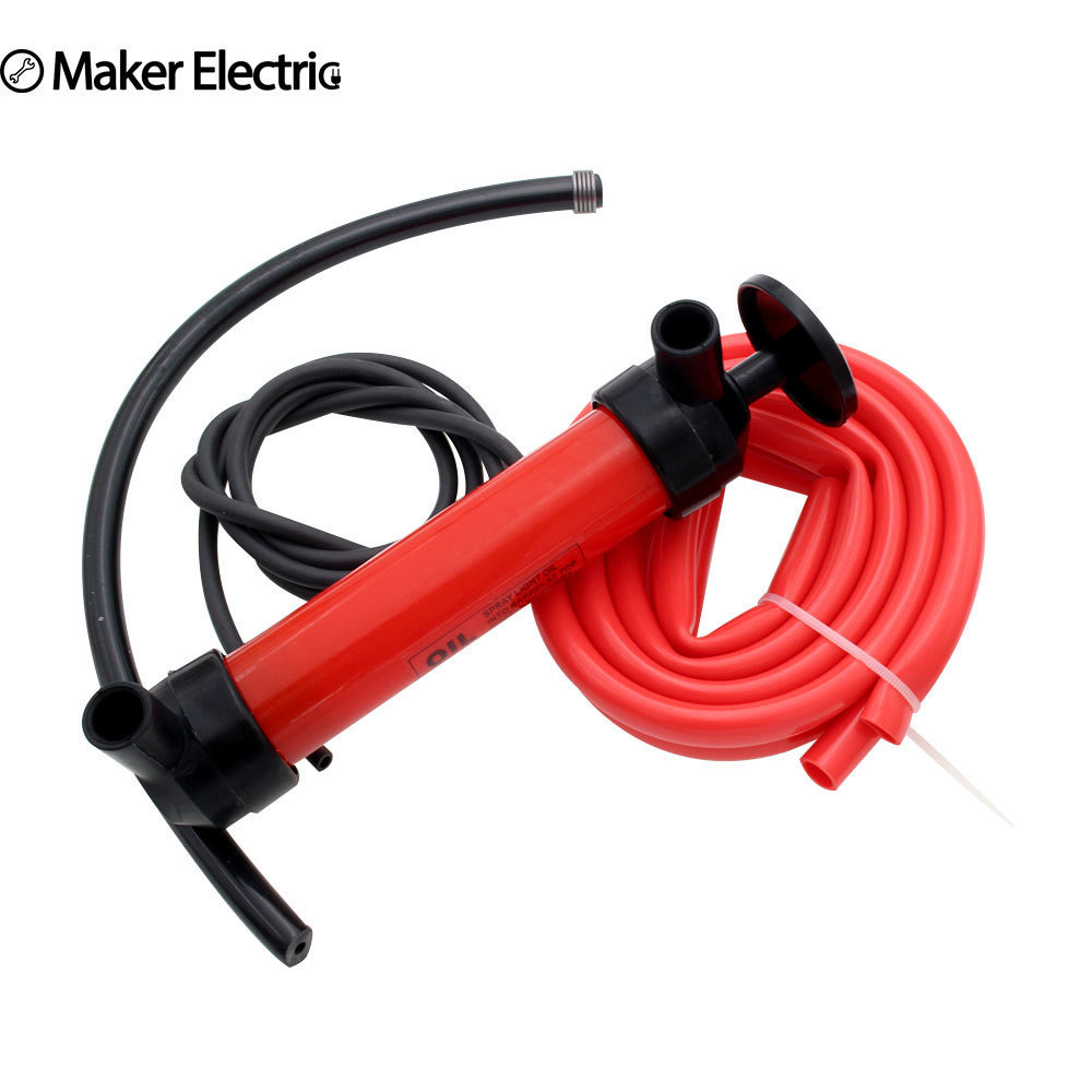 Manual Oil Pump Portable Hand Siphon Tube Car Hose Liquid Gas Transfer Sucker Suction High Quality Inflatable Pumpwater pumpmanual water pumppump inflatable -