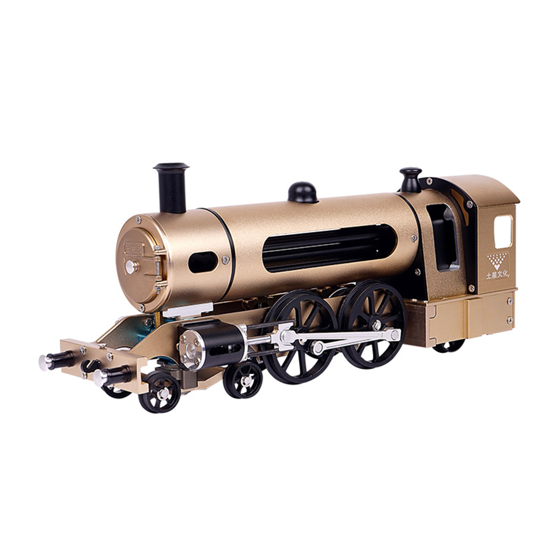 Hot All Metal Puzzle Electric Steam Train High Challenge Assembled Model Toy Creative Gifts Model Kits Puzzle Toys For Adult Boy