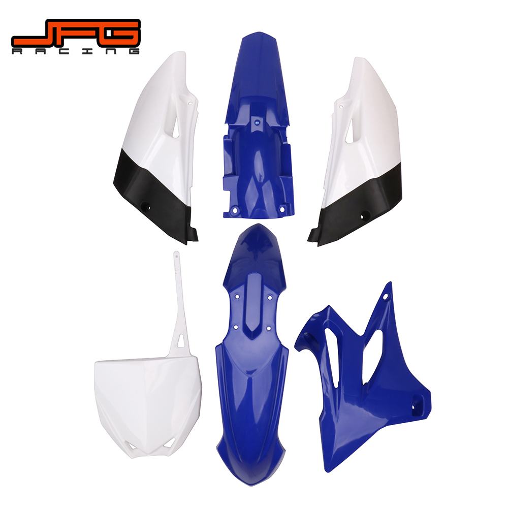 ABS Plastic Fender Fairing Body Work Kit Set For Yamaha YZ85 2002-2014 Dirt Pit Bike JFG RACING