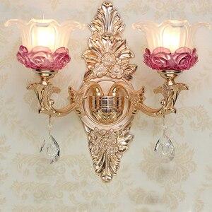 Настенный светильник, стеклянный, для KTV club Arandela, E14