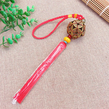 10 Pcs Chinese Knots Tassel Blessing Rich Lucky Fortune Copper Cash Chinese Arts and Crafts Gifts Hang Decorations Pendant 2018 chinese arts crafts