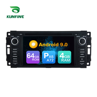 Android 9.0 Core PX6 A72 Ram 4G Rom 64G Car DVD GPS Multimedia Player Car Stereo For Jeep Compass 2009 2011 radio headunit
