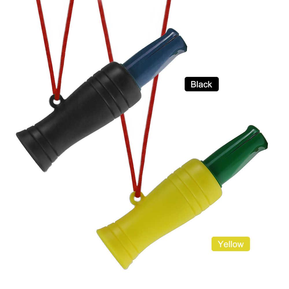 في الهواء الطلق الصيد صافرة PVC بطة الدراج مالارد البرية الطيور أوزة المتصل صوت الشراك الخداعية صيد هنتر الصيد التبعي