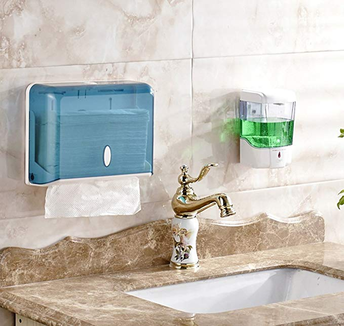 Wall Mounted 600ml Liquid Soap Dispenser Shower Body Lotion Shampoo Auto Sensor soap dispenser for Bathroom KitchenWall Mounted 600ml Liquid Soap Dispenser Shower Body Lotion Shampoo Auto Sensor soap dispenser for Bathroom Kitchen