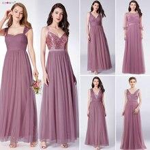Dust Pink Bridesmaid Dresses Long Ever Pretty Women Elegant