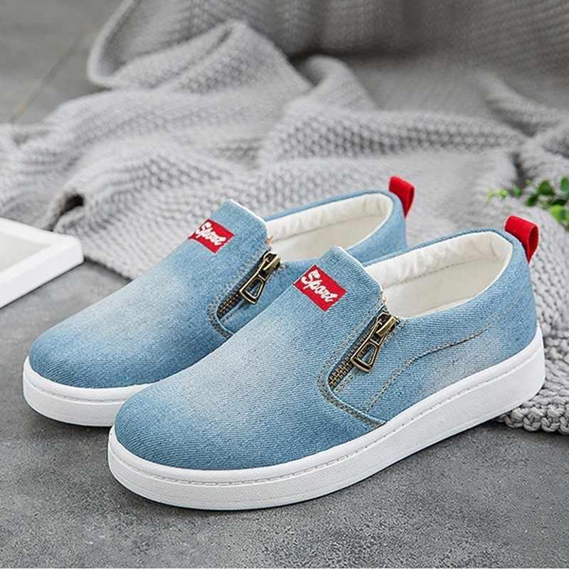 Canvas Shoes women sneakers Slip