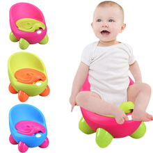 все цены на Portable Baby Potty Cartoon Pot Toilet Plastic Training Boy Girls Toilet Children Potty Seat YJS Dropship онлайн