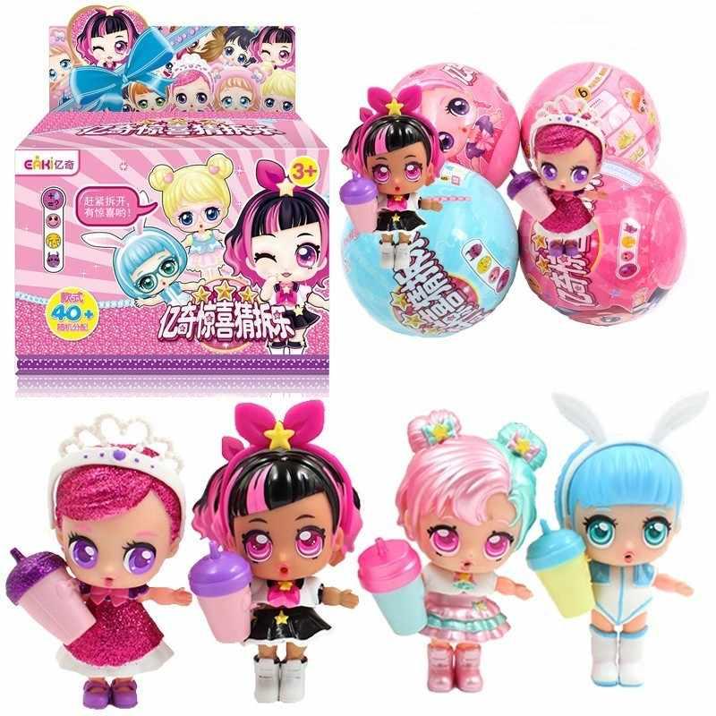Surpresa Adivinhar Demolição Aaa Bonecas Anime Figura Brinquedo Spray de Água DIY Brinquedos Puzzle para Crianças A012