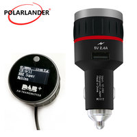 With Converter Plug and Play Knob Tuner Receiver Car DAB Radio Cigarette Lighter With 5V 2.4A A USB Part FM Transmitter