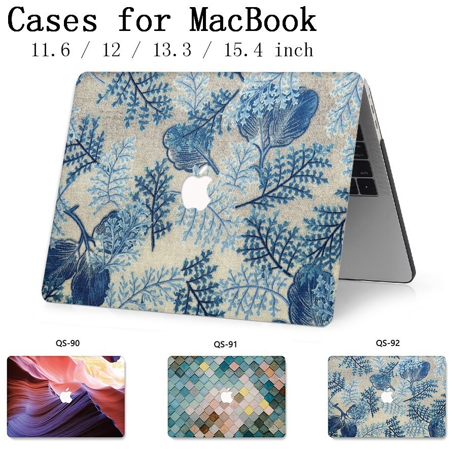 For Notebook MacBook Laptop Bag Case Sleeve For MacBook Air Pro Retina 11 12 13.3 15.4 Inch With Screen Protector Keyboard Cover-in Laptop Bags & Cases from Computer & Office