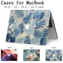 노트북 macbook 노트북 가방 케이스 슬리브 macbook air pro retina 11 12 13.3 15.4 인치 화면 보호기 키보드 커버