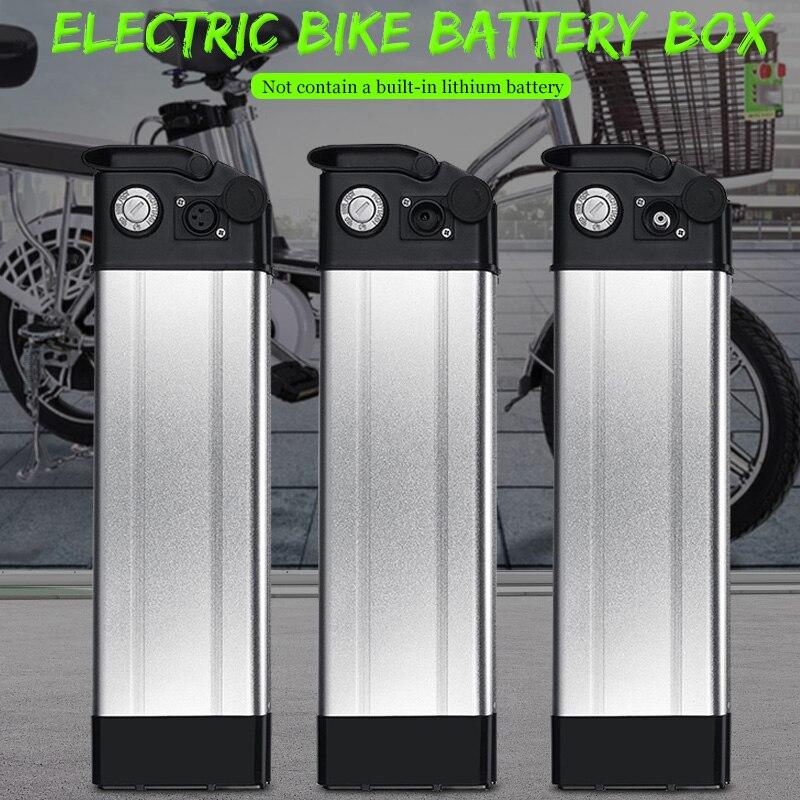 36/48 V vélo pliant mer batterie boîtier de voiture électrique vélo Lithium batterie boîte en alliage d'aluminium coque 18650 titulaire couverture