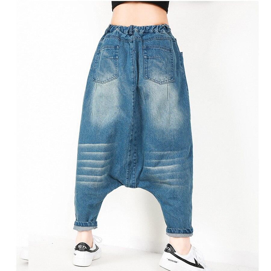 In Di Gamba Larga Baggy Delle Pantaloni Hip Cedimenti Jogger