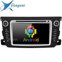 for Mercedes Benz Smart Fortwo 2011 2012 2013 2014 Car 2 DIN Radio DVD Player Audio GPS Navigator Vehicle Android Unit System