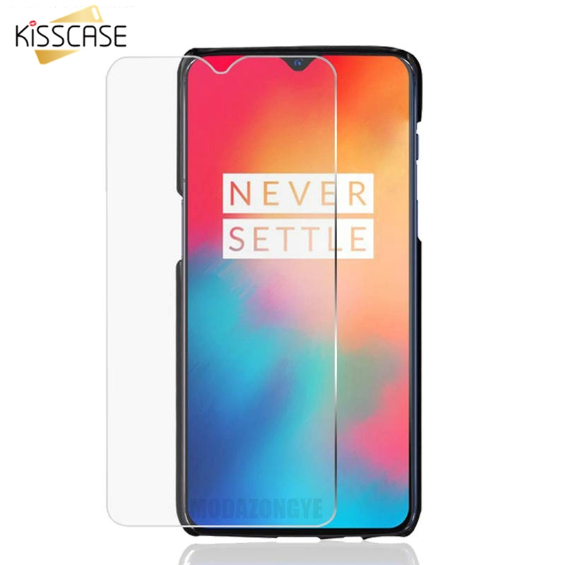 KISSCASE Clear 9H Protective Tempered Glass For Oneplus 6T 6 5T 3D Screen Protector For Oneplus 5T 6T Glass On The Front Film