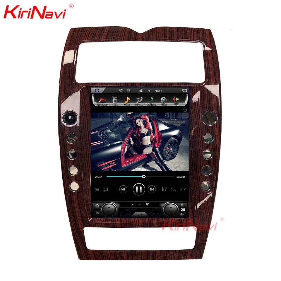 KiriNavi écran Vertical Tesla Style Android 6.0 12.1 pouces voiture multimédia lecteur DVD stéréo Radio pour Maserati Quattroporte WIFI