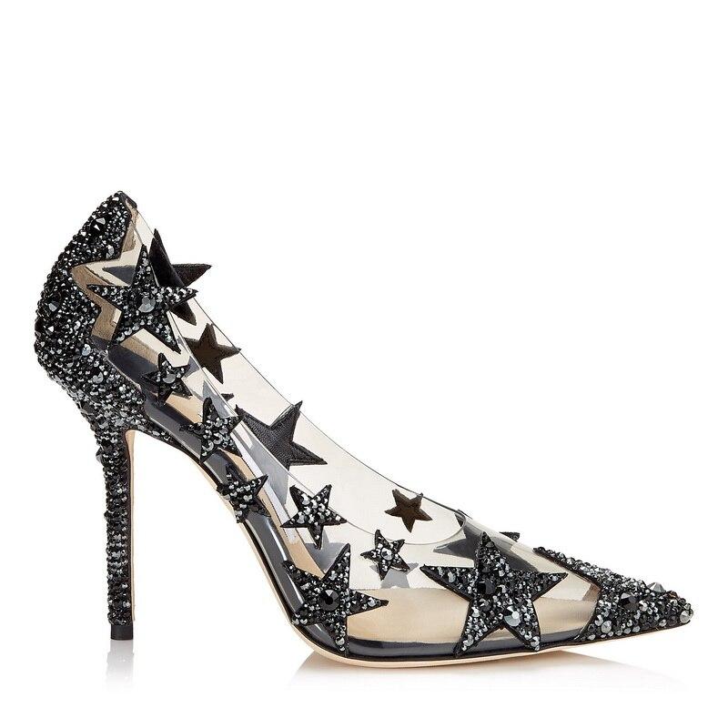 Delle Marca Scarpe Pompe Mujer Estate De Ple Talloni Lusso Women Di Zapatos Donna Primavera Da Calzature Alti Pumps Progettista 9cm Del 2019 Slipona Degli FxFwTAr