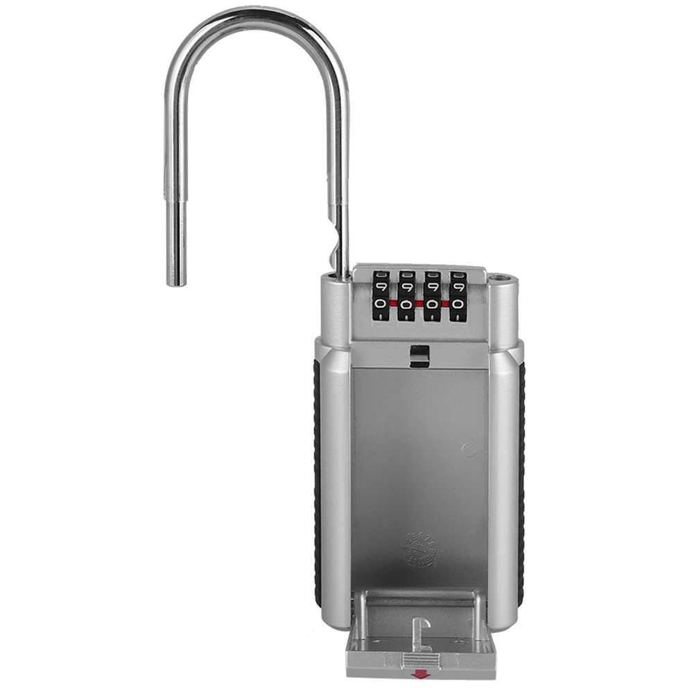 金属パスワード南京錠キー安全収納ロックボックスロック高品質