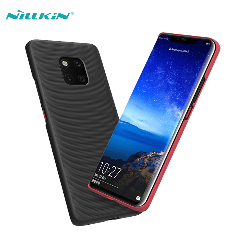 For Huawei Mate 20 Pro Case Cover NILLKIN Super Frosted Shield Matte Plastic Hard Phone Cases For Huawei Mate 20 Pro Back Covers