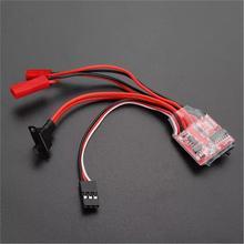 30A Mini Brush ESC Brake for RC Car/Boat Speed Controller wi