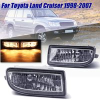 2 Pcs Fog Lamp Fog Light Driving Lamp For Toyota Land Cruiser 100 Lc100 1998 1999 2000 2001 2002 2003 2004 2005 2006 2007 Hdj100