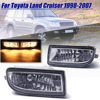 2 Pcs Fog Lamp Fog Light Driving Lamp For Toyota Land Cruiser 100 Lc100 1998 1999 2000 2001 2002 2003 2004 2005 2006 2007 Hdj100