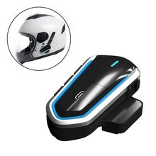 Earphone Waterproof Wireless Long Standby Helmet Headset Hands Free Easy Operation Bluetooth Motorcycle Energy Saving