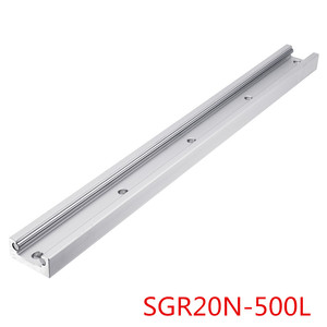 Image 3 - SGR20N 500L With SGB20N 3UU SGB20N 5UU Slide Block Built in Dual A xis Roller Linear Guide For Engraving CNC Machine New