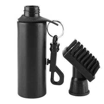 Professional Golf Club Cleaning Brush Water Dispenser Cleaner Black Golf Accessories