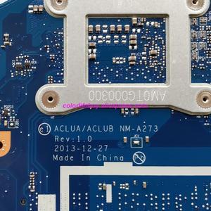 Image 5 - 정품 FRU: 5B20G45405 ACLUA/ACLUB NM A273 w I5 4210U Lenovo Z50 70 노트북 PC 용 820M/2G 노트북 마더 보드 메인 보드