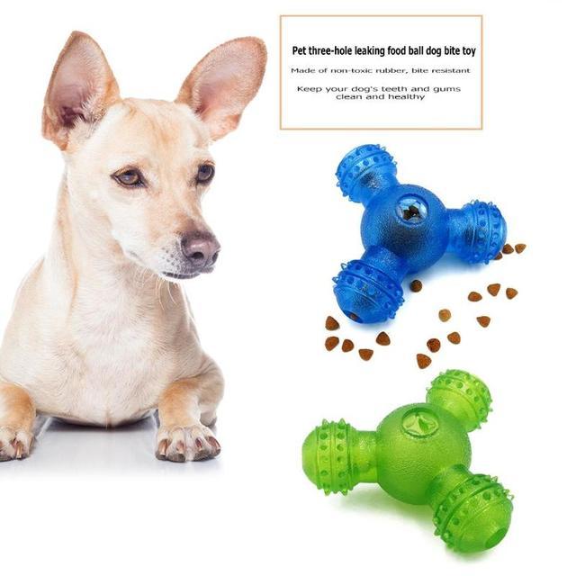 Rubber Feeder Ball for Dog 4