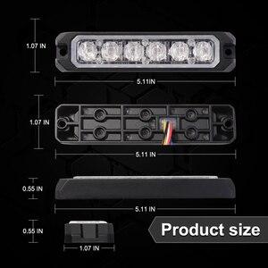 Image 5 - Bogrand Ultra thin Led Flash Strobe Light Waterproof Ip65 Flashing Light 24v Ambulance Emergency Lights 18w