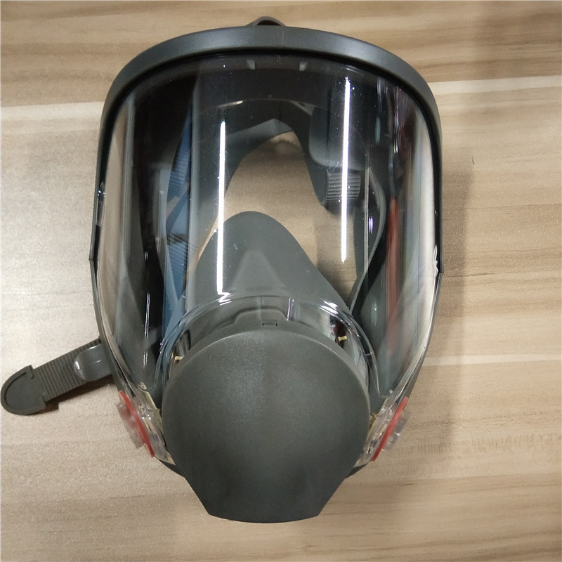 6800 Painting Spraying Safety Respirator Gas Mask Full Face Facepiece Respirator Suitable For 6001 6002 6003 6004 Filter