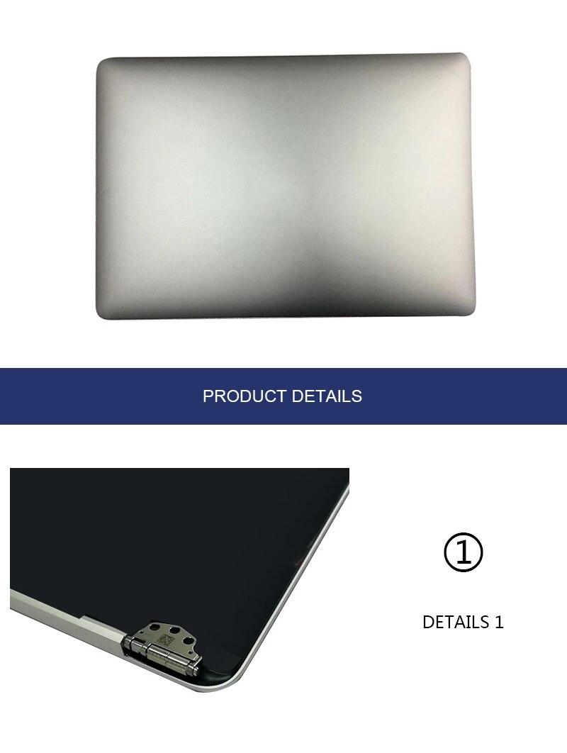 MEIHOU argent pour Apple MacBook Pro Retina 13