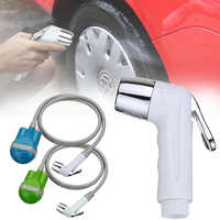 Wireless Portable Outdoor USB Rechargeable Shower Head Water Pump Nozzle Sport Travel Caravan Van Car Washer Camping Shower