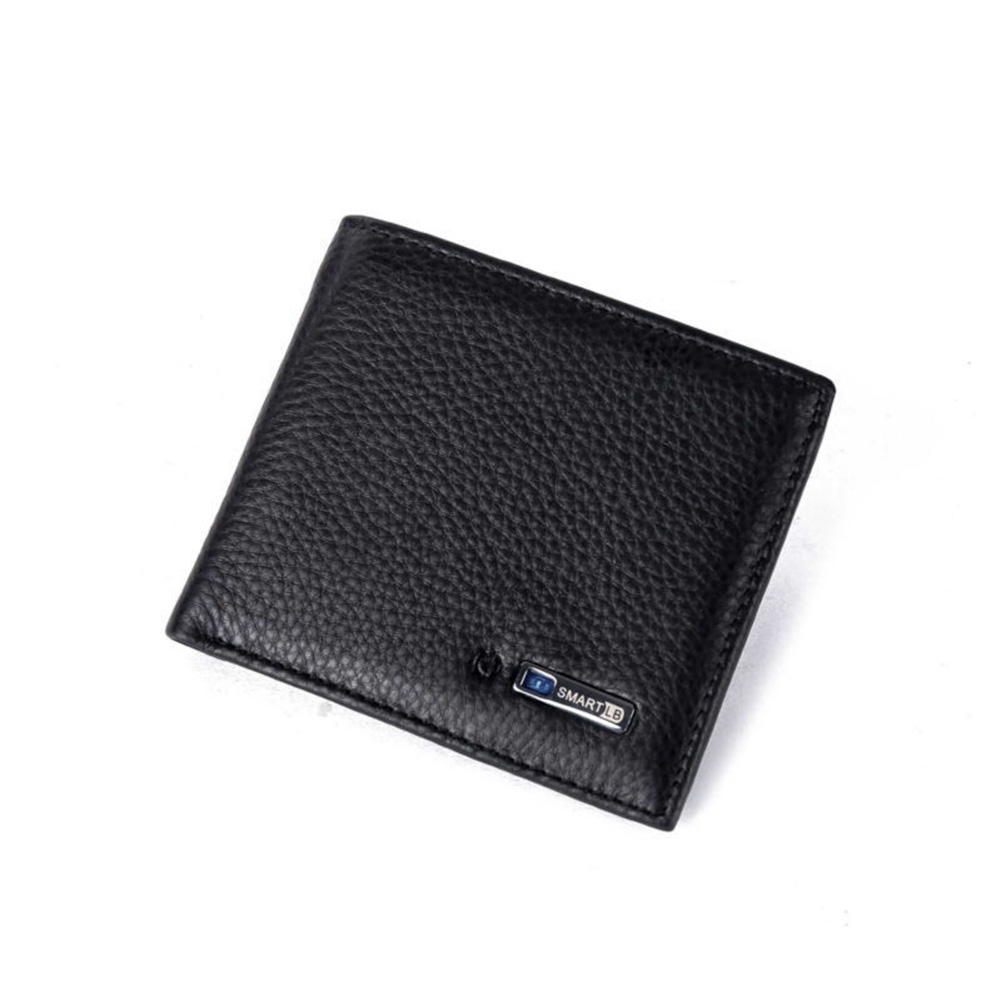 Short Purse Anti-lost Tracker GPS Locator Fabala Smart Anti-theft Bluetooth Artificial Cowhide Leather Wallet