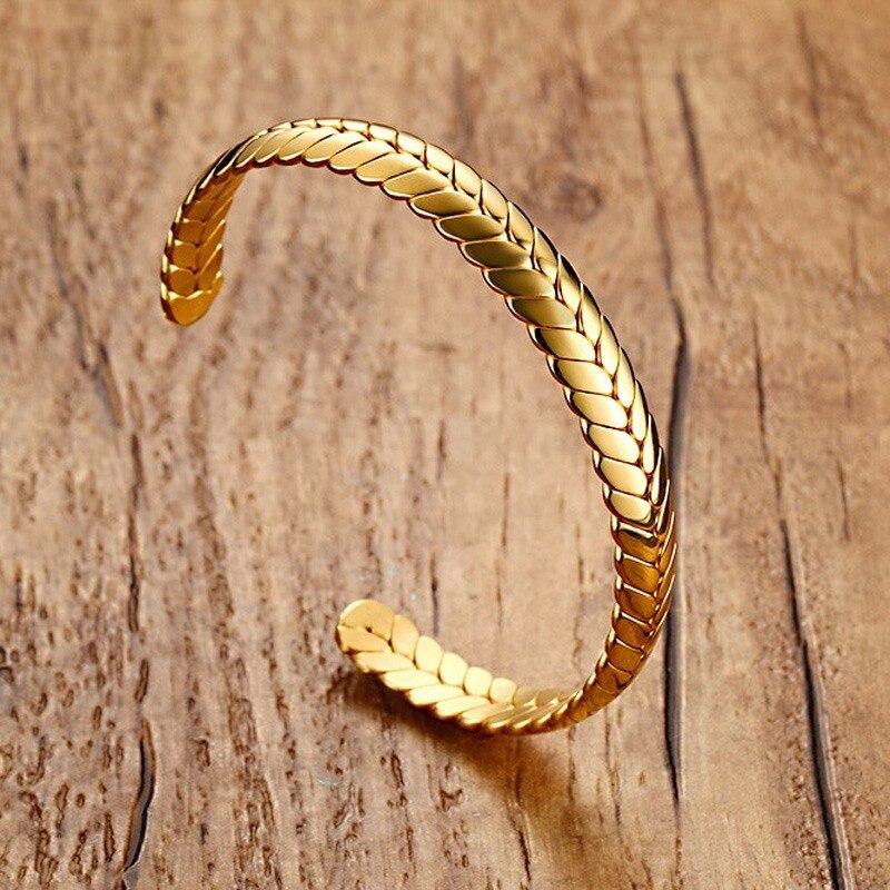 Unique Mens Cuff Bracelets Bangles For